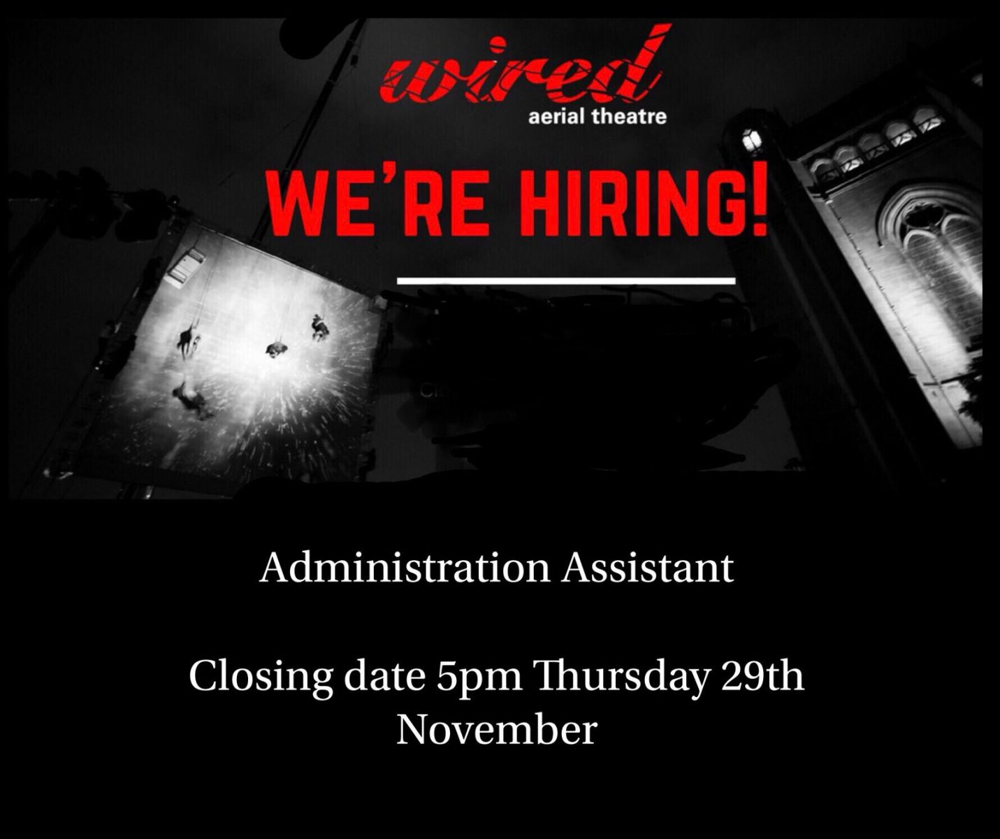 Wired Are Hiring: Administration Assistant