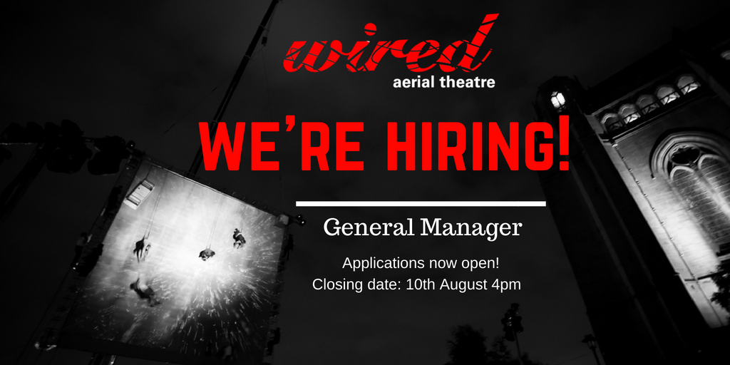 Wired Are Hiring: General Manager! (Position Now Closed)