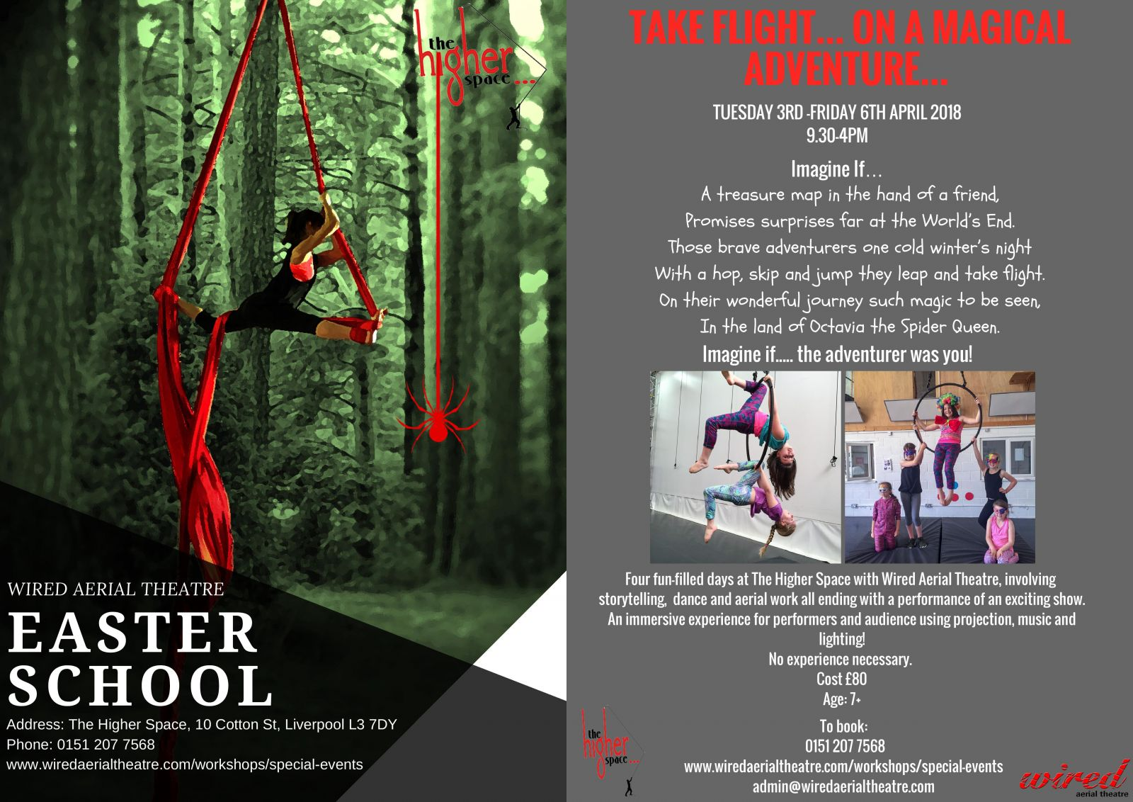 Workshops | Wired Aerial Theatre